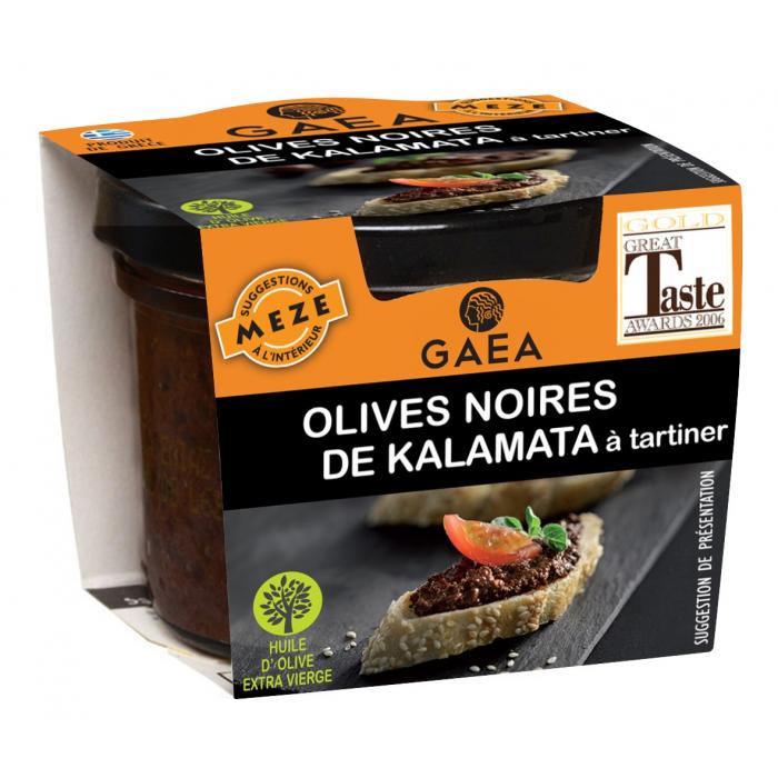 Olives noires de Kalamata à tartiner - AIL AIL AIL