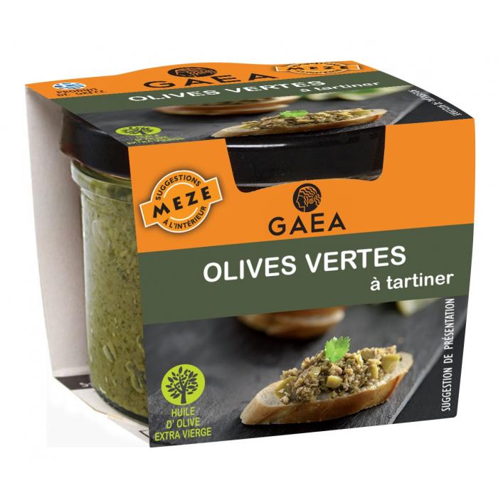 Olives vertes à tartiner - AIL AIL AIL