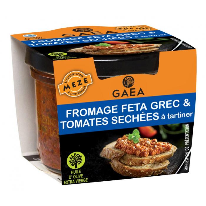 Feta et tomates séchées à tartiner - AIL AIL AIL