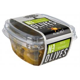 N°3 - Olives vertes ail et...