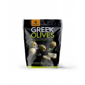 Greek olives vertes citron...