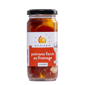 Poivrons farcis au fromage - AIL AIL AIL